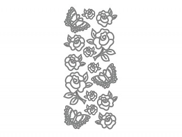 runde klistremerker med tekst